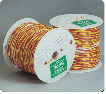 Twisted thermocouple wire